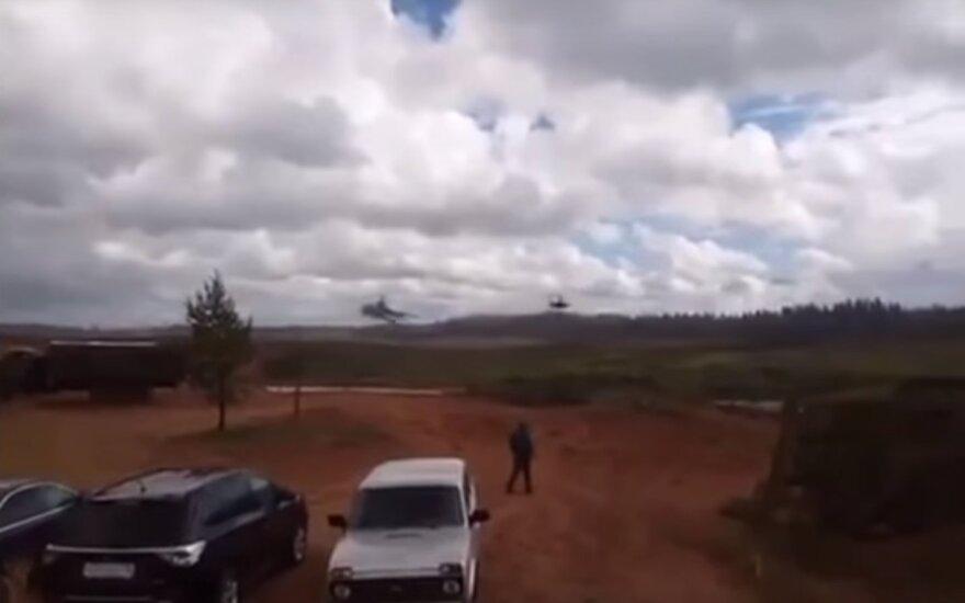 """Раскрыты подробности ракетного удара с вертолета на учениях """"Запад-2017"""""""