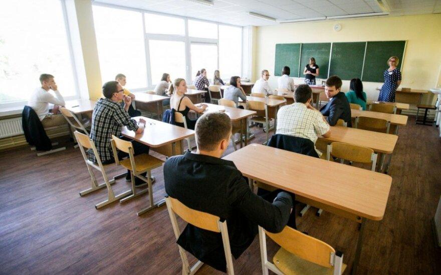 Во время экзамена по литовскому языку зафиксирован инцидент
