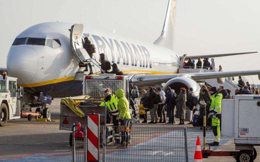 Самолеты авиакомпании Ryanair будут летать из Вильнюса в столицу Иордании