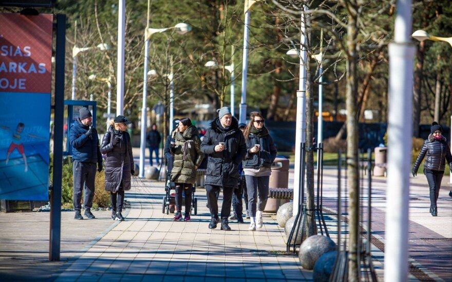Власти Клайпеды и Клайпедского района готовы ограничить посещение парков