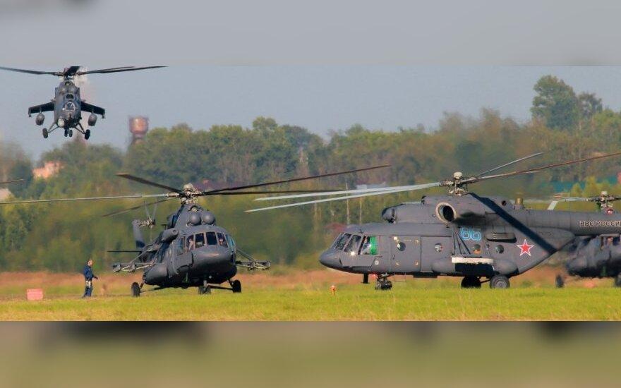 СНБО: российские вертолеты обстреляли украинских пограничников