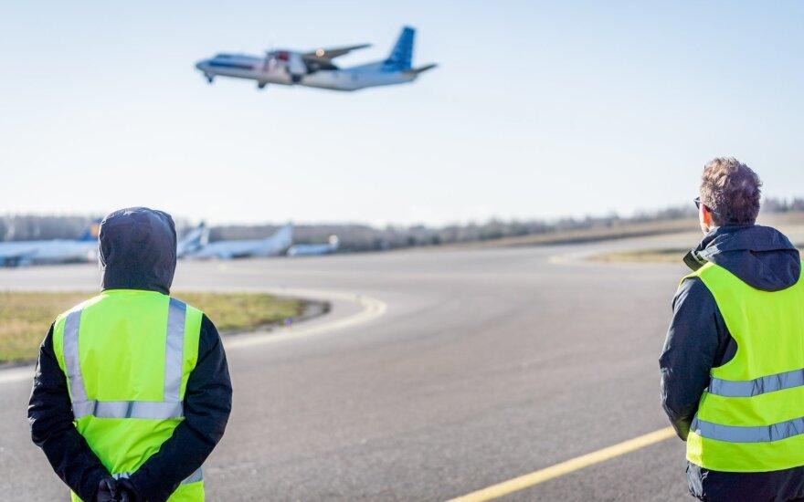 В Вильнюсском аэропорту началась реконструкция перрона