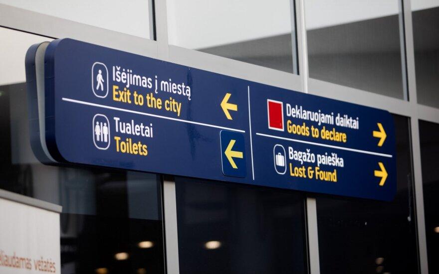 В Вильнюсском аэропорту совершена наглая кража