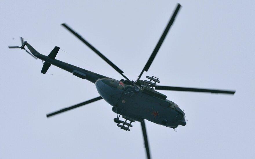 На западе Украины упал вертолет Сухопутных войск, экипаж погиб