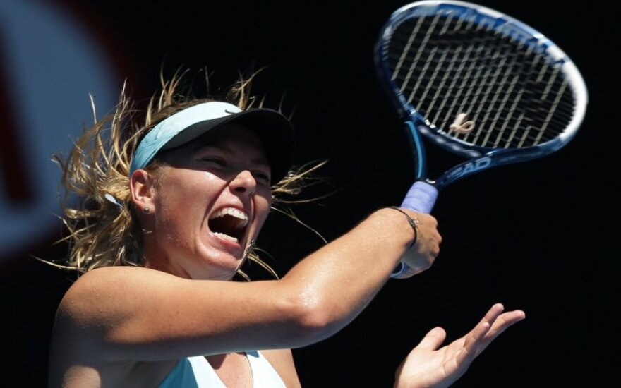 Шарапова проиграла на Australian Open