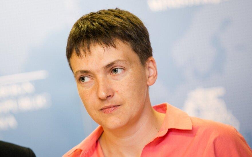 Савченко со скандалом ушла с заседания комитета Рады по обороне