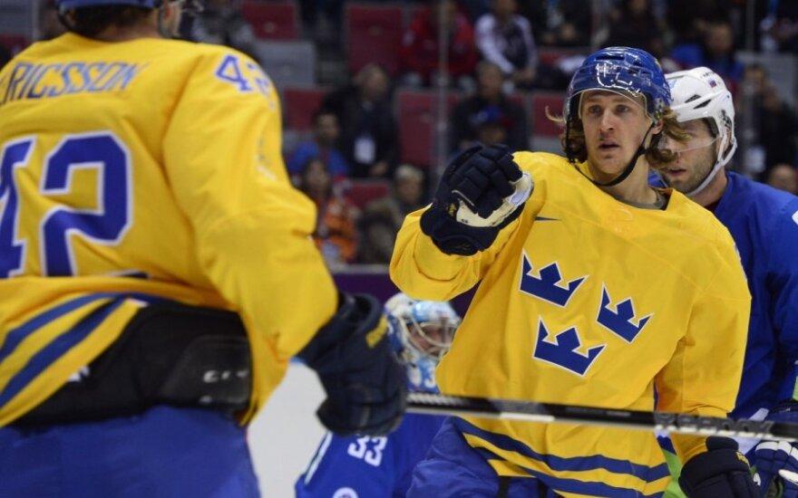 Сочи: сборная Швеции по хоккею первой вышла в получинал