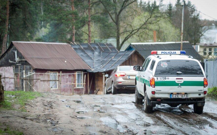 В вильнюсском цыганском таборе обнаружено тело мужчины