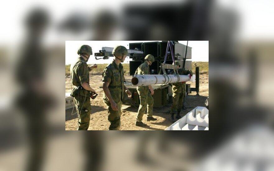 Армия Литвы получила приобретенные у Норвегии системы ПВО
