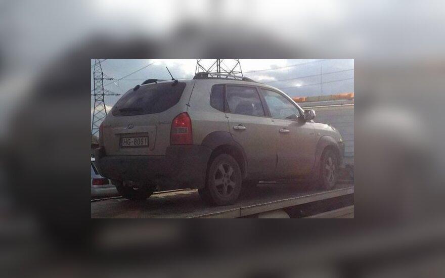 Дело о пропавшем в Литве жителе Лиепаи: волонтеры разместили фото найденной машины