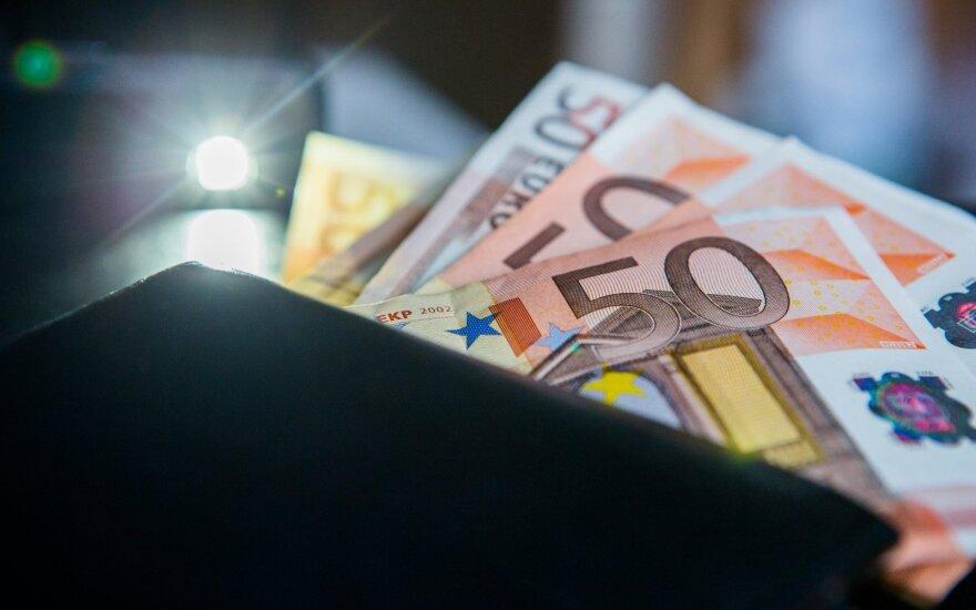 TNS LT: свободные деньги остаются у 65% жителей Литвы