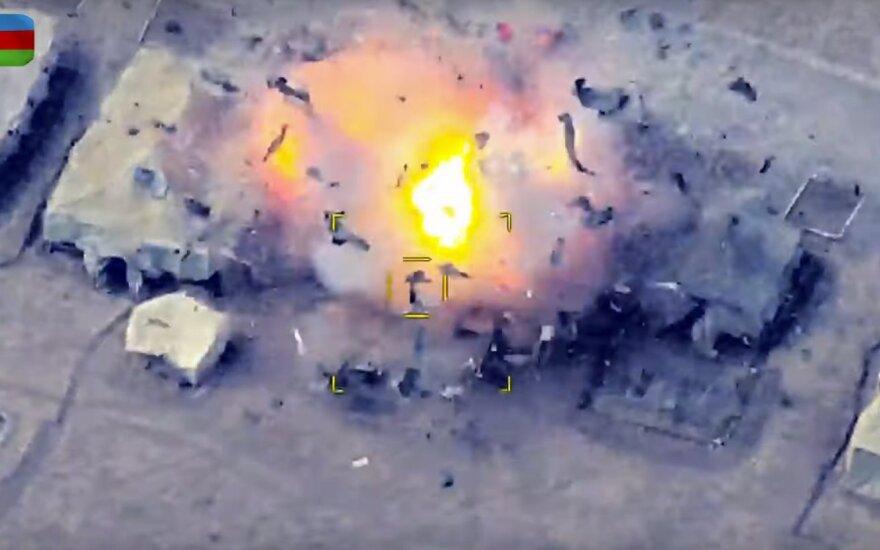 Армения обвиняет Азербайджан в применении запрещенных кассетных боеприпасов