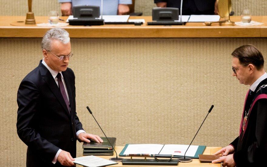 У Литвы новый президент: Науседа принес присягу в Сейме