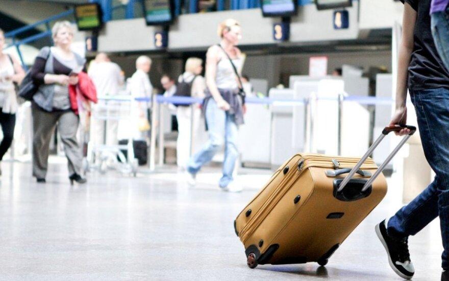 В Вильнюсском аэропорту в заточении оказались около 200 пассажиров