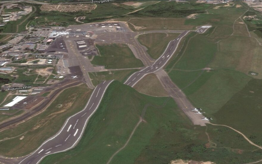 """Vilniaus oro uostas """"Apple"""" žemėlapyje"""