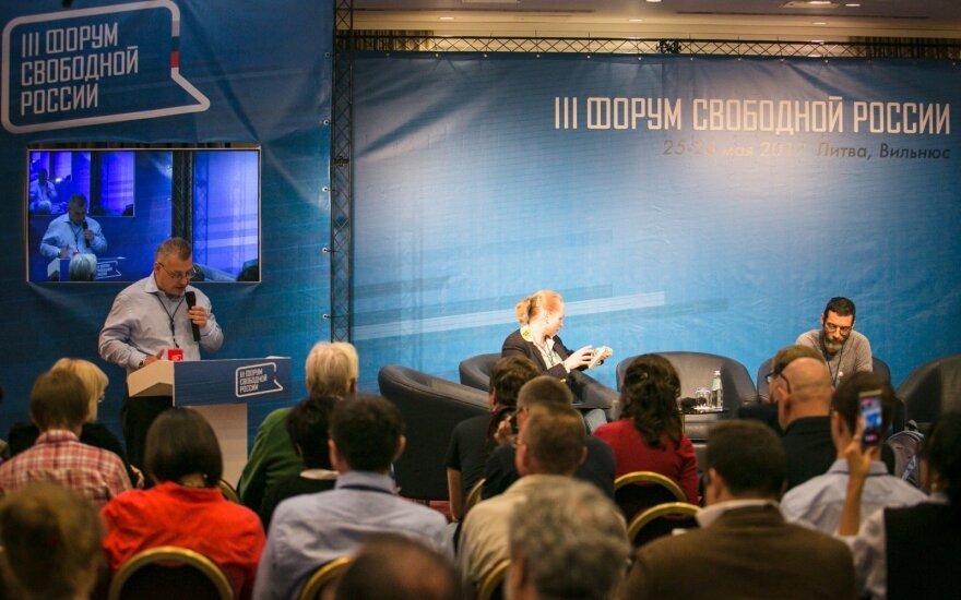 """Форум свободной России в Вильнюсе: """"Здесь обсуждается все"""""""