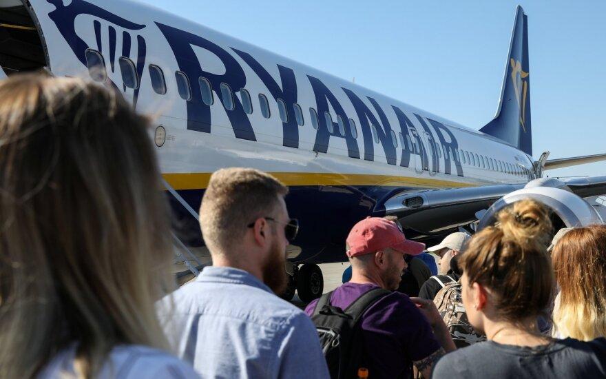Самолеты Ryanair будут летать из Паланги в Дублин