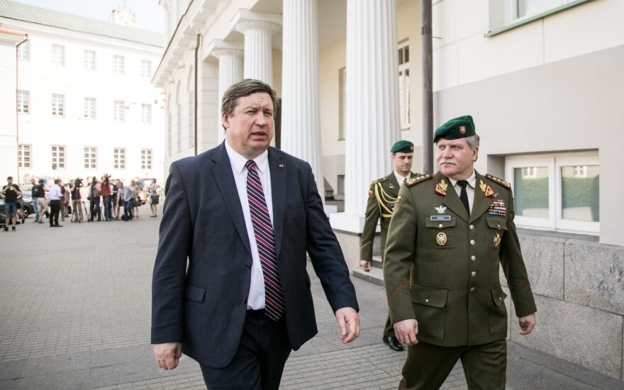 Raimundas Karoblis ir Vytautas Jonas Žukas