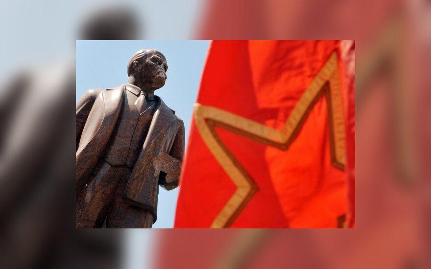 В пригороде Петербурга взорвали памятник Ленину