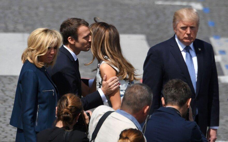 Трамп присутствовал на параде в День взятия Бастилии