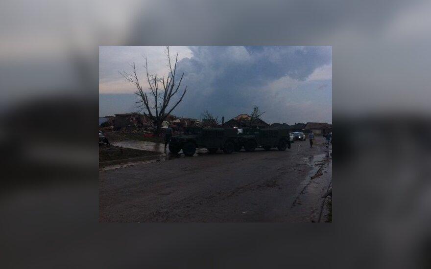 Vaizdas po tornado Oklahomoje (J. Kripo nuotr.)