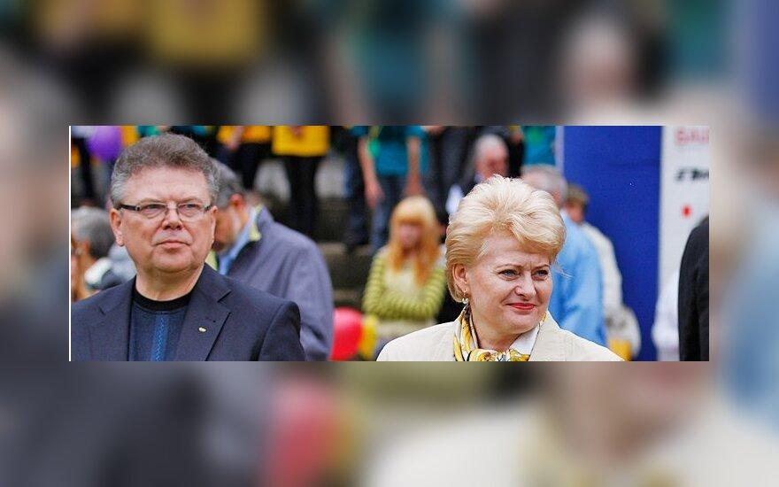 Artūras Poviliūnas ir Dalia Grybauskaitė
