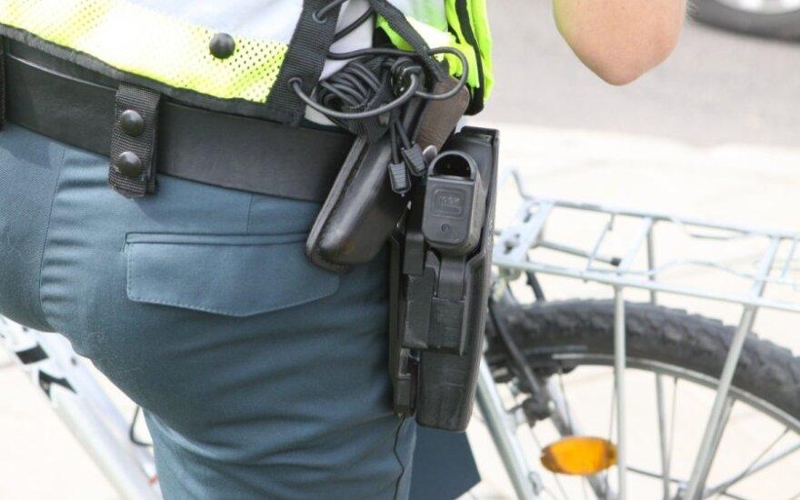 В Вильнюсе полицейский выстрелил в преступника