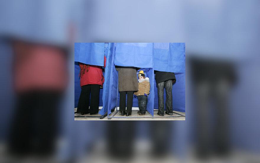 Gruzinai balsuoja prezidento rinkimuose