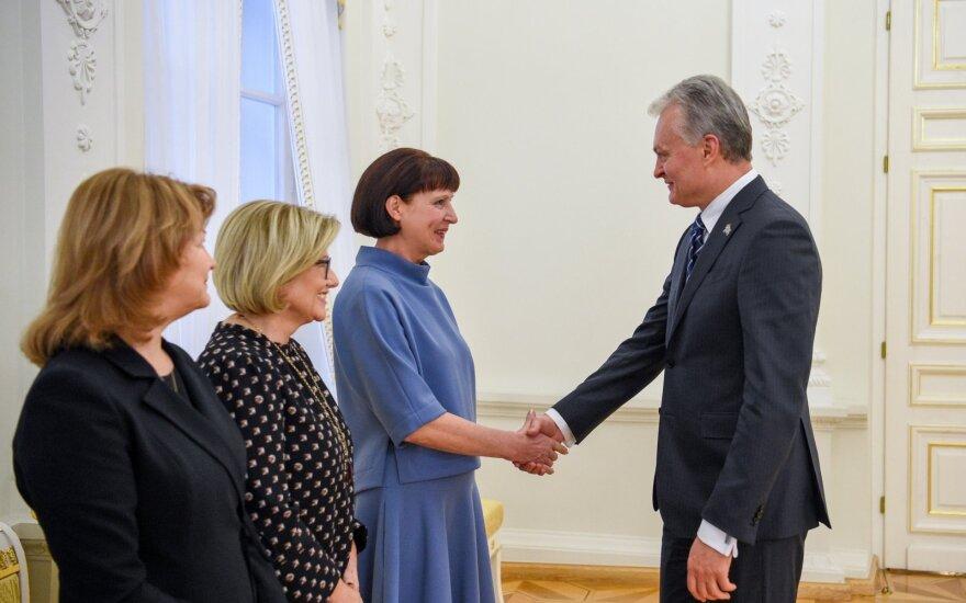 Vaidutė Stangvilienė ir Gitanas Nausėda