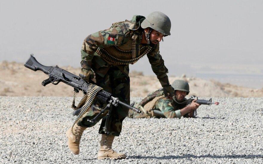 Литва намерена выделять средства афганским вооруженным силам до 2024 года