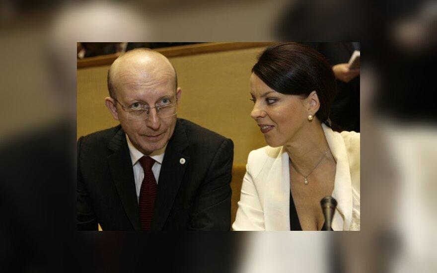А.Валинскас встретится с М.Саакашвили