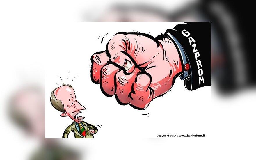 """Планы """"Газпрома"""" уйти из Каунаса не пугают"""