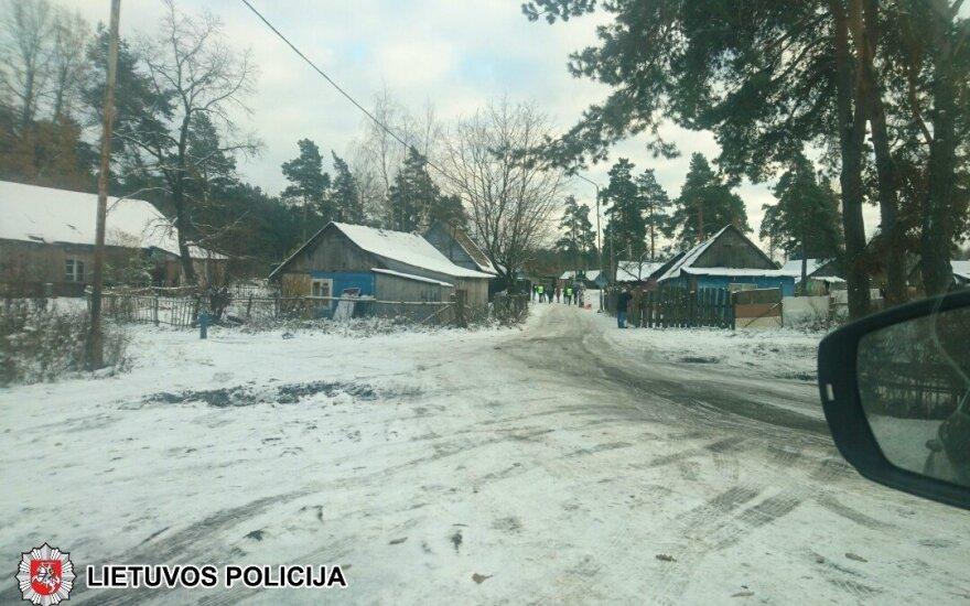 Около цыганского табора в Вильнюсе обнаружено тело мужчины