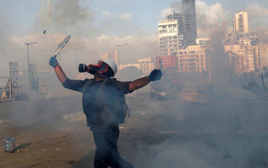 В Бейруте массовые протесты после взрыва: для чиновников подготовили виселицы