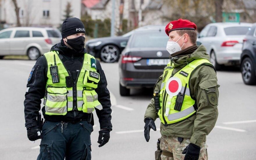 В выходные дни за нарушение карантина в Литве оштрафованы 169 человек