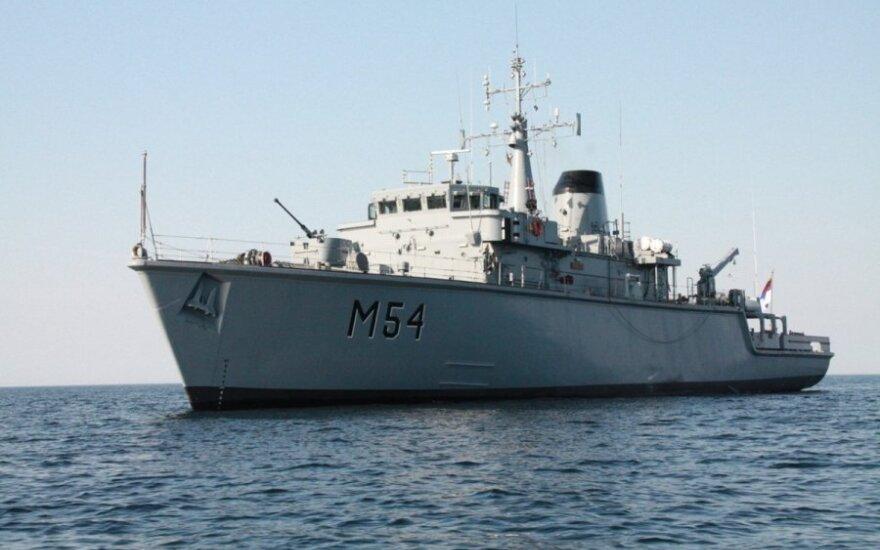 """Lietuvos karinių jūrų pajėgų laivas """"Kuršis"""""""
