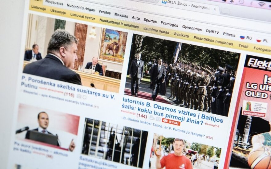 Во время визита Обамы портал DELFI в Литве атаковали хакеры