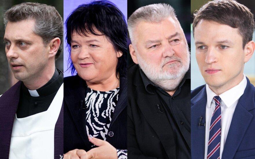 Ričardas Doveika, Dalia Ibelhauptaitė, Alfredas Bumblauskas, Linas Kojala