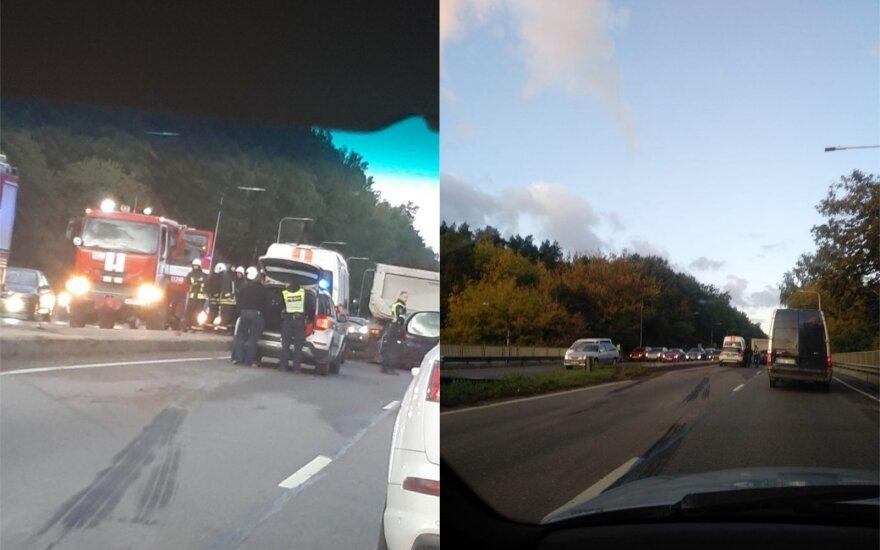 В Вильнюсе произошло, ДТП погиб водитель