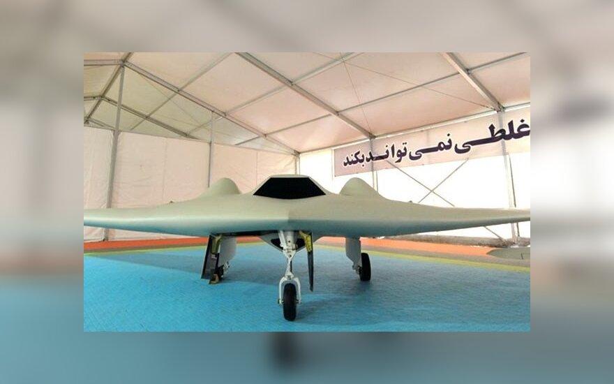 Иранские военные представили копию американского беспилотника