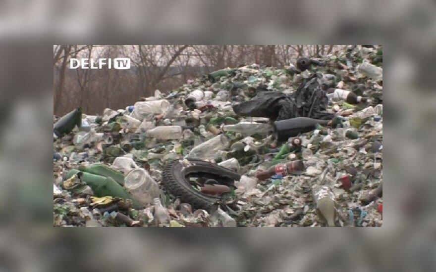 Stiklo atliekos Kaišiadorių rajone
