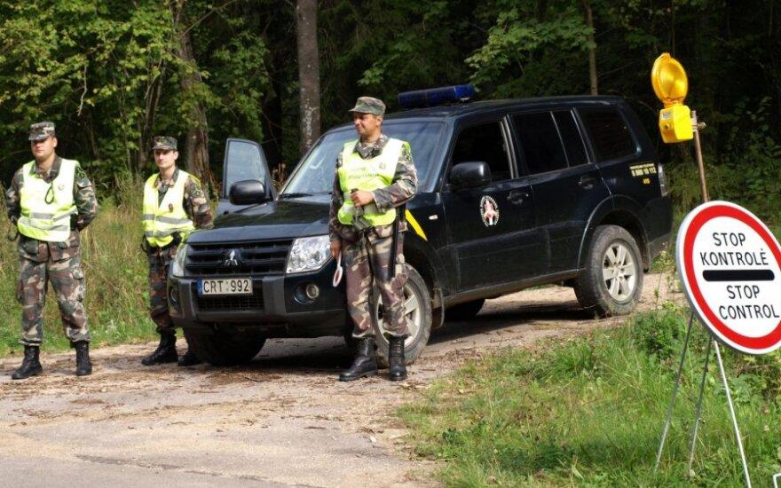 На границе Литвы и Польши из-за беженцев усилено патрулирование