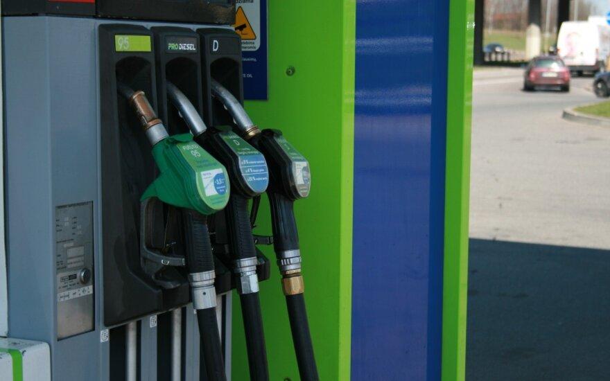 Что произошло с ценами на топливо в Таллине, Риге и Вильнюсе за неделю?