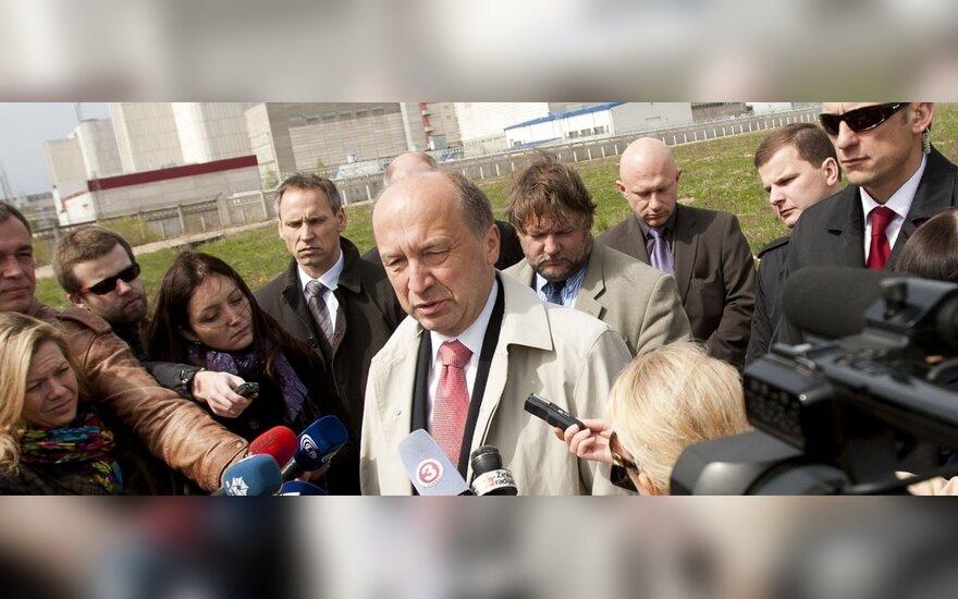 Кубилюс о Висагинской АЭС: конечный результат будет прозрачным