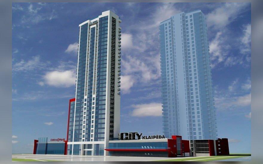 """City Klaipėda"" projekto vizualizacija"
