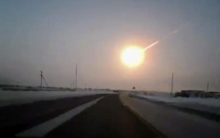 После метеорита: в небе над Челябинском – загадочное явление