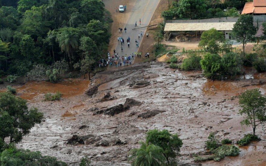 В Бразилии прорвало дамбу, около 300 человек пропали без вести