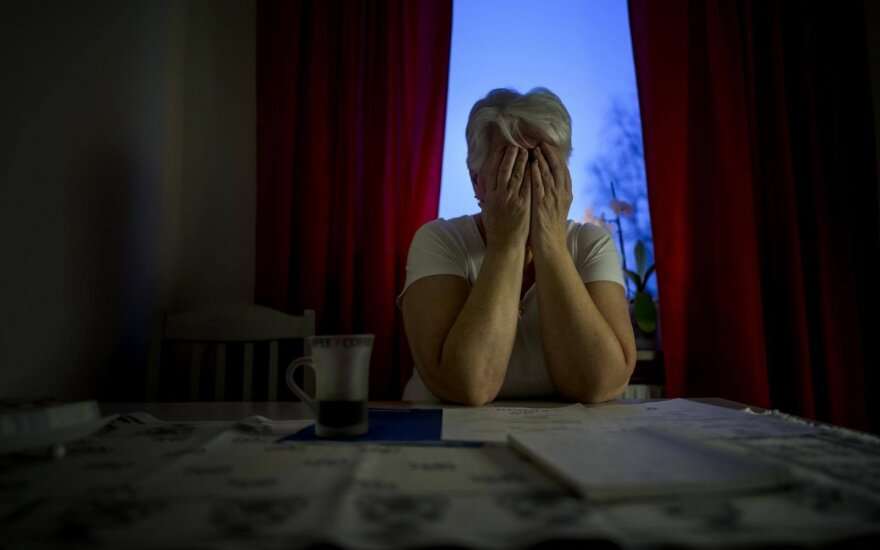 Ši pagyvenusi Švedė menamiems investicijų vadybininkams atidavė viską, ką turėjo (nuotr. Alexander Mahmoud / Dagens Nyheter)