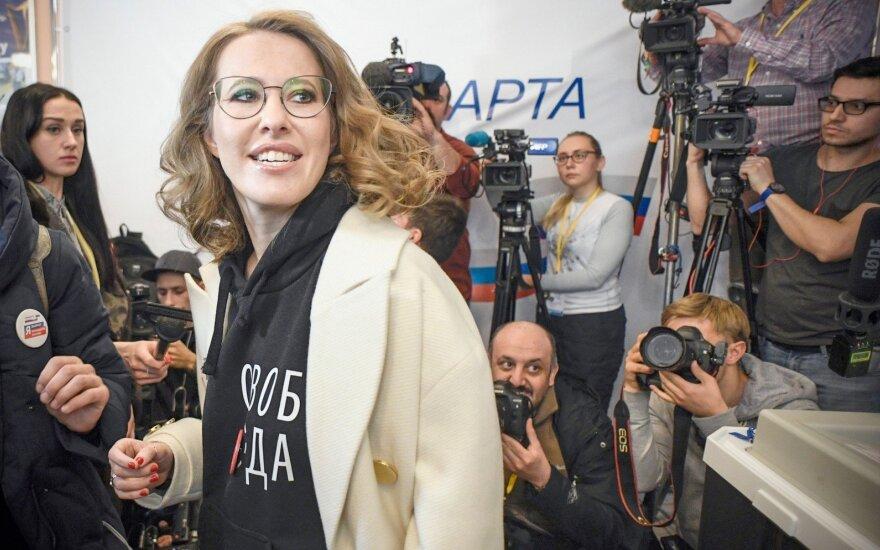 Собчак попросила Путина помиловать 16 политзаключенных