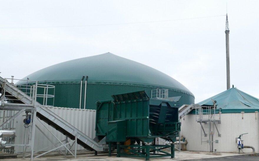 Biodujų jėgainė Baltarusijoje / Modus Energy nuotr.